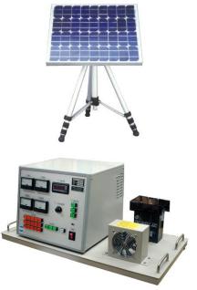 太陽光エネルギ変換実験装置