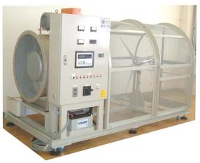 室内形風力発電実験装置