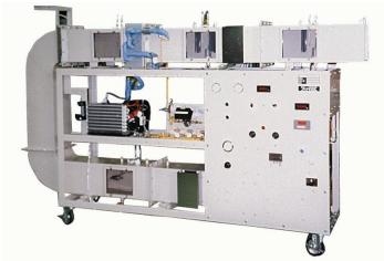 ヒートポンプ式空気調和実験装置