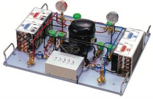 ヒートポンプサイクル学習装置