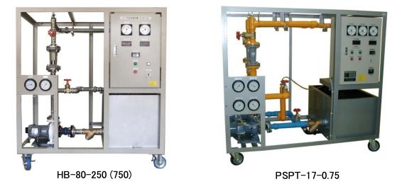 ポンプ性能実験装置