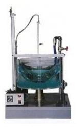 自由渦・強制渦発生実験装置