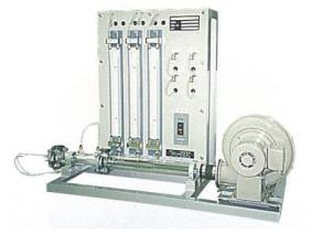 ベルヌーイ理論観察装置(空気)