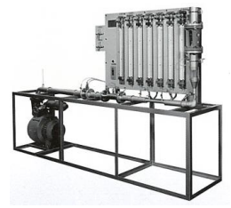 流量計測比較実験装置(空気)
