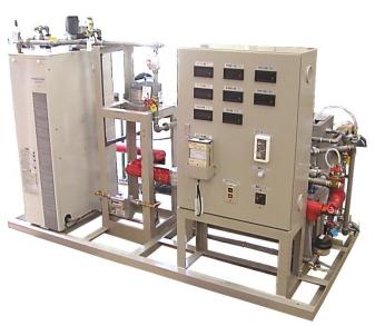温水ボイラ実験装置