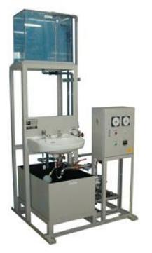 給水実験装置(タンク高位置液面作動装置)