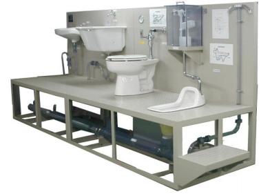 衛生設備・トラップ排水通気観察装置
