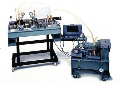 トランスペアレント油圧実験装置