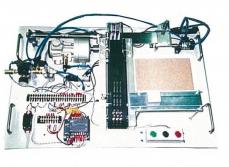空気圧シーケンス制御実験装置