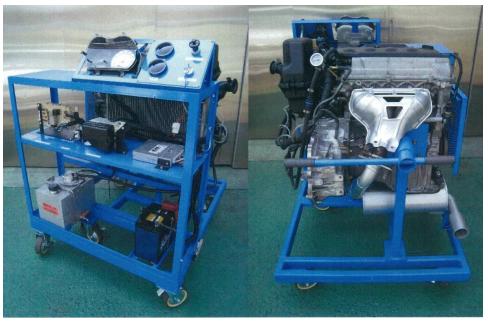 エンジン分解・組立・運転実習装置