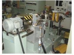 高速モートル負荷試験装置