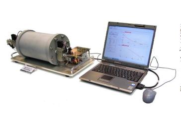 等温化放出法による流量特性計測試験装置
