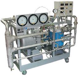 回流型圧縮性流体流量試験装置